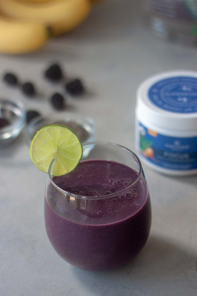Make a Move Purple Power Smoothie