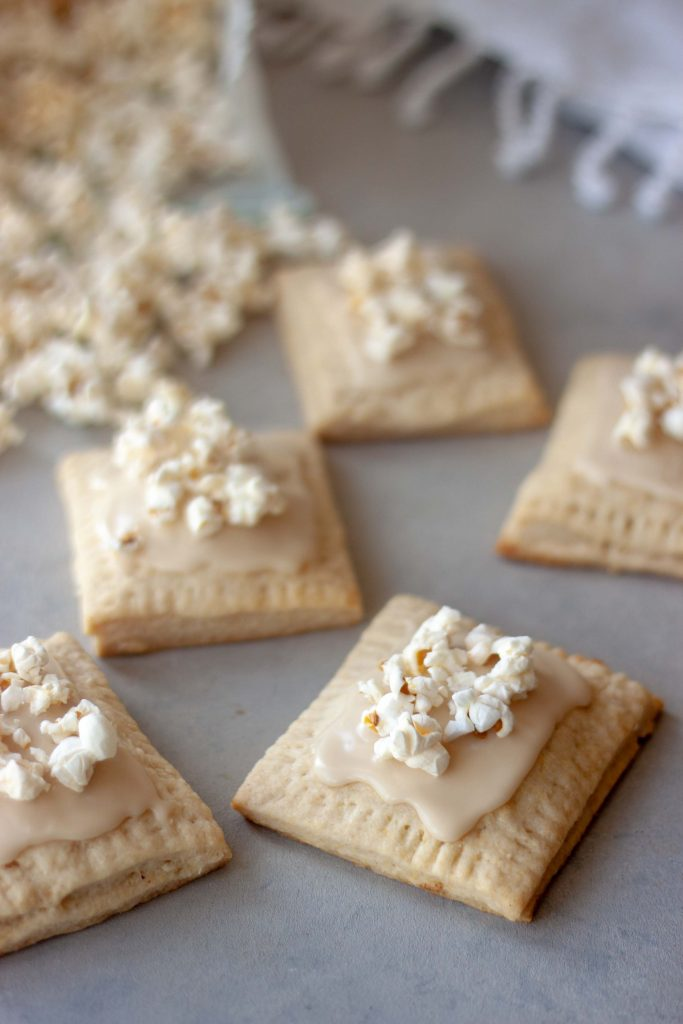 Maple Popcorn Maple Pancake Pop Tarts