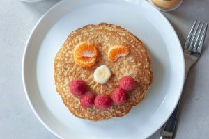 Pancakes and Probiotics make us happy!