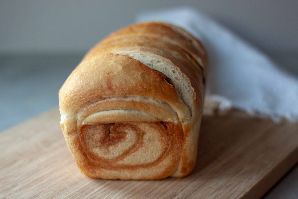 Apple Cinnamon Swirl Sourdough Bread