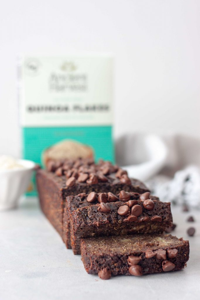 Life Changing Chocolate Banana Bread