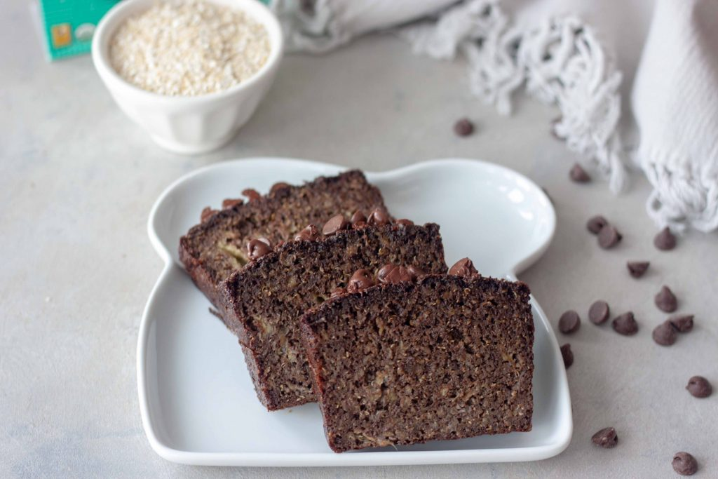 Life Changing Chocolate Banana Bread slices